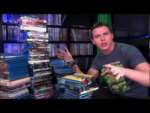 Most Bad Ass BLU-RAY Movie Collection Video!!
