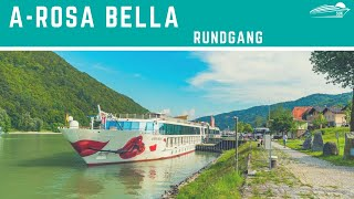 A-Rosa Bella: Rundgang ✅ - Schiffstour (A-Rosa Donna, A-Rosa Mia, A-Rosa Riva)