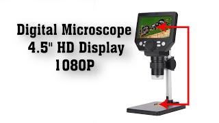 Portable LCD digital microscop…