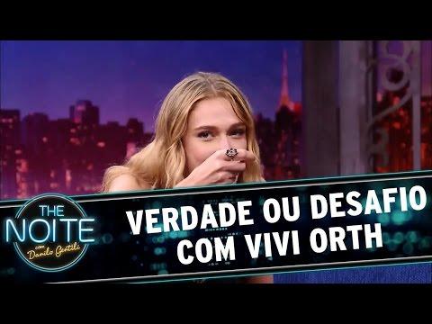 The Noite (01/06/16) Verdade ou Desafio com Vivi Orth