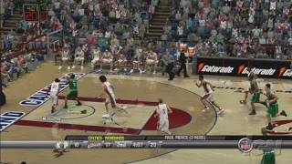 NBA 2K8 Xbox 360 Gameplay - For Three (HD)