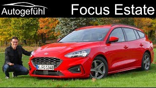 Ford Focus Estate Turnier FULL REVIEW new 2019 - Autogefühl