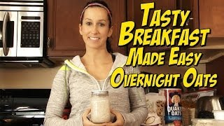 Peanut Butter Cheesecake Overnight Oats!