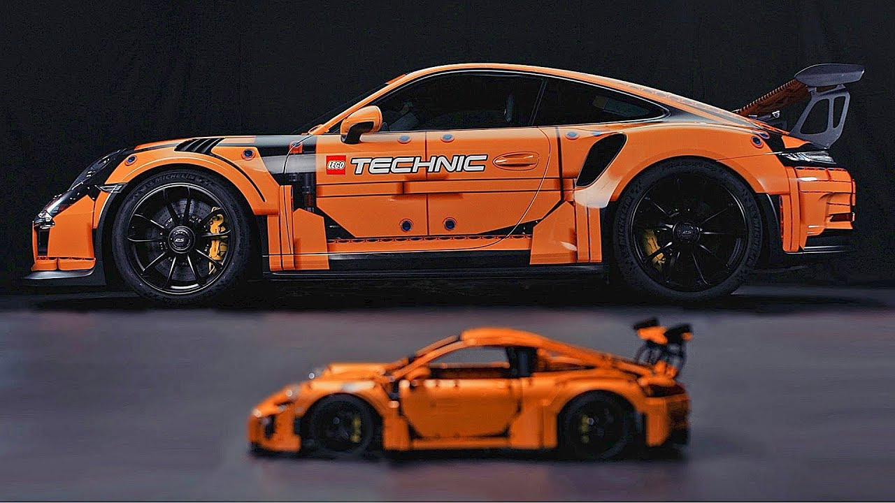 lego technic porsche 911 gt3 rs original vs replica. Black Bedroom Furniture Sets. Home Design Ideas