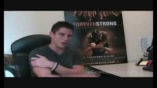 Sean Faris Exclusive Interview for Forever Strong (Part 2)