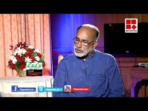 CLOSE ENCOUNTER WITH ALPHONS KANNANTHANAM│Part B │Reporter Live