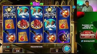 The Big Easy slots LIVE  [Online Gambling with Jersey Joe # 87]
