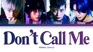 Similar Songs to SHINee 샤이니 'Don't Call Me' MV Suggestions