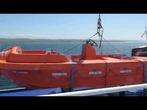 Boarding and Disembarking Stena Ferry - Ireland to Scotland