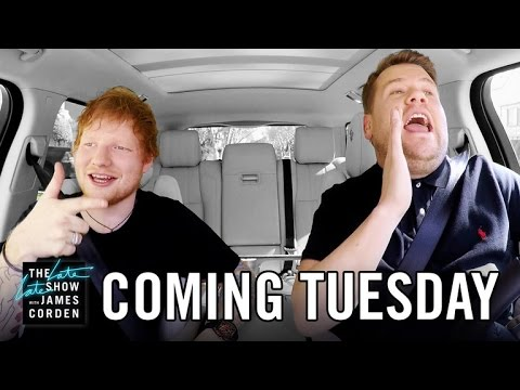 Ed Sheeran Carpool Karaoke: First Look -...