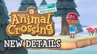 Animal Crossing New Horizons - NEW SCREENSHOTS & LOCALISATION
