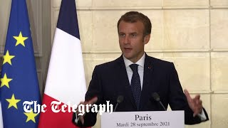video: France signs defence deal with Greece after suffering bloody nose in submarines row