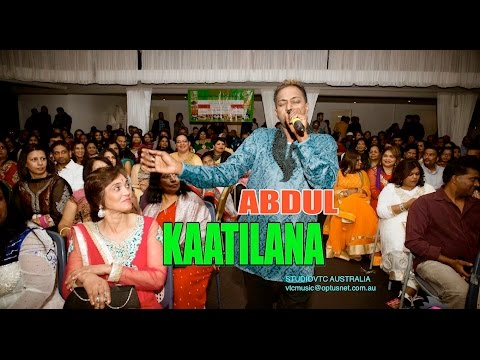 FIJI DUAL Voice Singer  KAATILANA  ABDUL  Live At RAFI NIGHT 2015