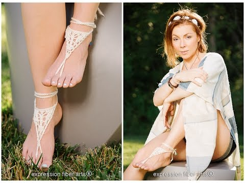 How To Knit Barefoot Sandals