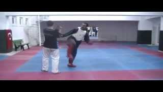 Serkan Yağcı training best of karate technic