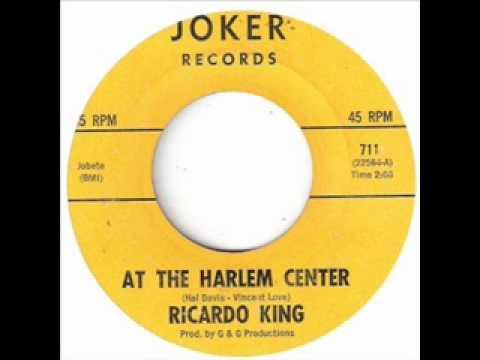 RICARDO KING - AT THE HARLEM CENTER