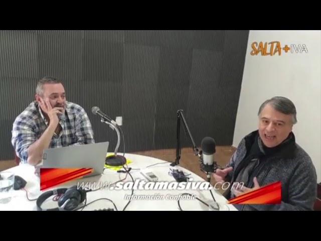 """entrevista a Ruben """"Chato"""" Correa, presidente de la UCR Comité Capital y candidato a diputado"""