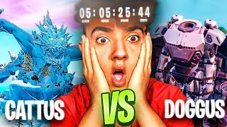 EL ROBOT VS EL MONSTRUO de FORTNITE... *EL GRAN EVENTO FINAL*
