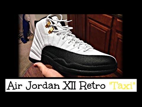 quality design 3970f ea753 Nike air jordan taxi campout unboxing on feet jpg 480x360 Jumpman jordan 12  taxi