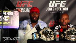 UFC 152 Post-Fight Press Conference: Dana White Rips Some Fans, Writer