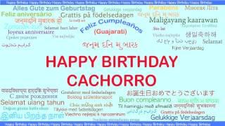 Cachorro   Languages Idiomas - Happy Birthday