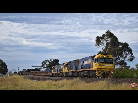 Top and Tail Freight to Melbourne | Pacific National's Late running 6WM2