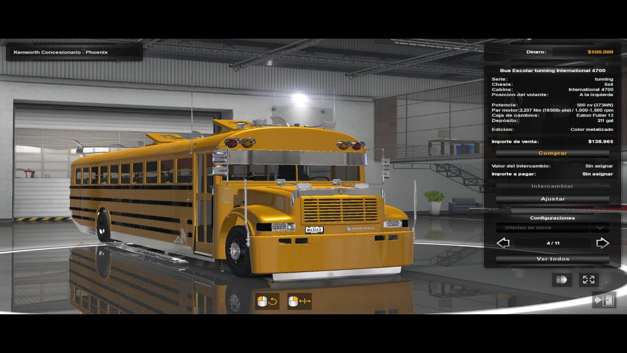 Descarga: School Bus Custom by Crackex For Ats y Ets2 1.38x, 1.39x