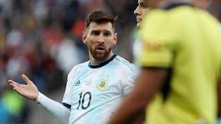 إيقاف ليونيل ميسي عن اللعب مع المنتخب الأرجنتيني 3 أشهر بسبب تصريحاته خلال كوبا أمريكا…