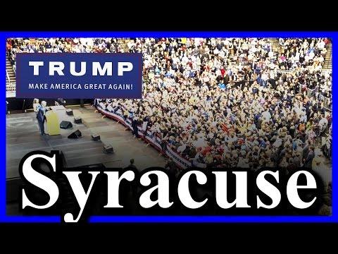 LIVE Donald Trump Rally in Syracuse, NY (4-16-16) ✔