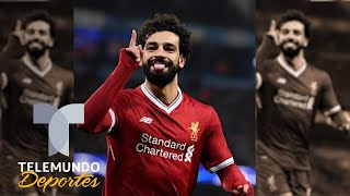 Salah dice que Liverpool pude ganar Champions y Premier | UEFA Champions League | Telemundo Deportes
