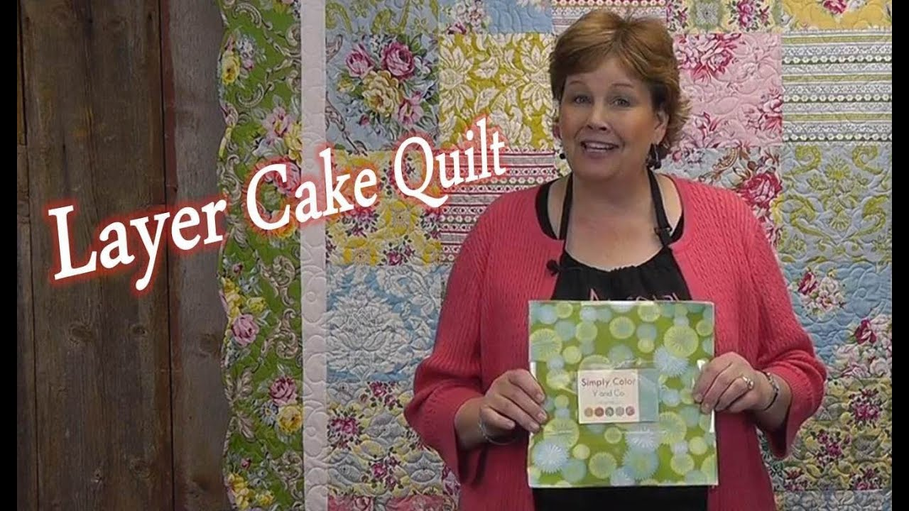 Layer Cake Quilt Quilting Made Simple Youtube