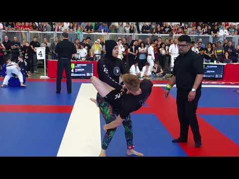 Emily Sheil vs Fatima Eltassi 2018 CBJJF Alberta Open
