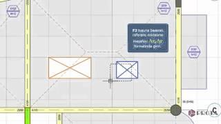 ProtaStructure ile Modelleme - Döşeme Boşluklarının Tanımlanması