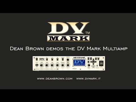 DV Mark artist DEAN BROWN demos the MULTIAMP