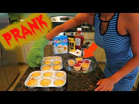 GROSS CUPCAKE PRANK