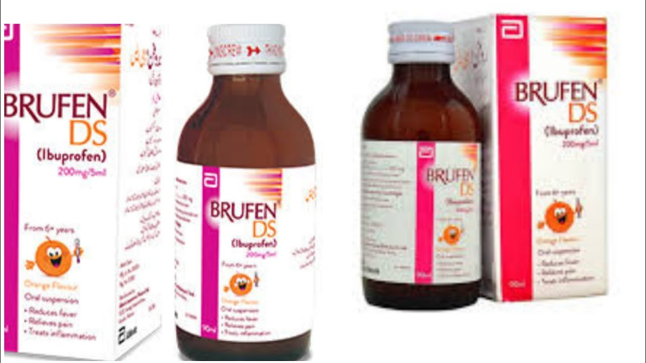 Brufen Syrup 100mg 5ml Imformation And Uses Brufen Syrup Side Effects Youtube