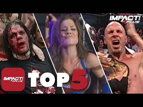5 GREATEST Slammiversary Title Wins in IMPACT History | IMPACT Plus Top 5