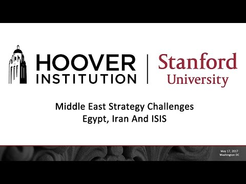 Middle East Strategy Challenges: Egypt, Iran And ISIS