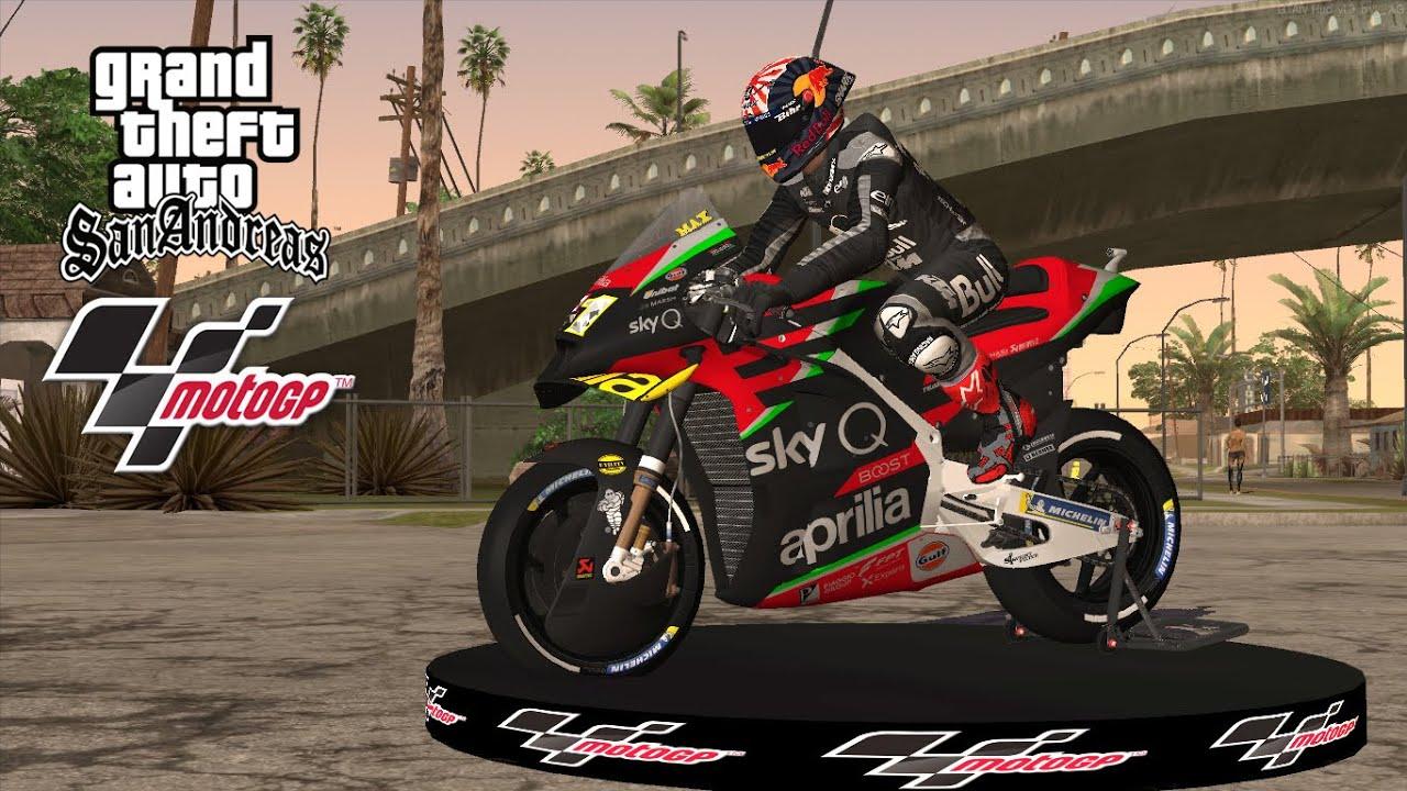Aprilia RsGP 2020 v2.0 Aprilia Racing Team Gresini 2020 for GTA SA PC and  Android  