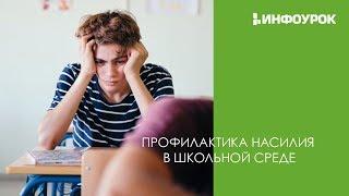 Профилактика насилия в школьной среде   Видеолекции   Инфоурок
