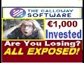 🚸™Calloway-Software (Crazy Currency Trades TEST) €1000 LOST?⛔ AVOID MISTAKES