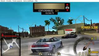 Need For Speed Undercover PSP - Part 8 - Pursuit #1 - Central (Cop Take Out)