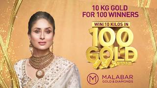 Win up to 10 Kilos of Gold for 100 winners at Malabar Gold & Diamonds-Bahrain