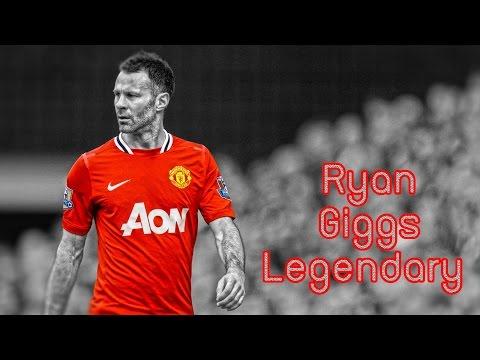 Ryan Giggs Legendary Man U Goals & Skill
