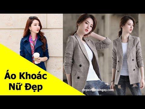 Top Mẫu áo Khoác Nữ đẹp | 50 Áo Khoác Kaki Nữ đẹp Thời Trang Phần 7