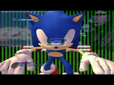 Running Sonic Unleashed (PS2 Game) On Android (DamonPS2 Emulator PS2)