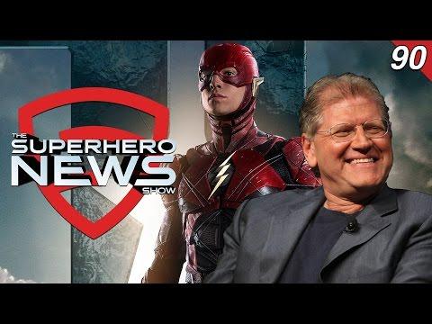 Superhero News #90: Robert Zemeckis met with WB for The Flash