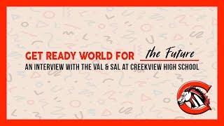 Interview with Valedictorian & Salutatorian | Creekview High School