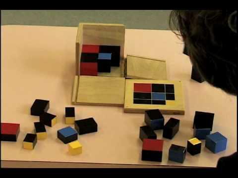 12 Montessori Sensorial Curriculum Demonstrations