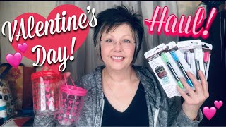 DOLLAR TREE HAUL | NEW VALENTINE'S DAY ITEMS | Country Girl